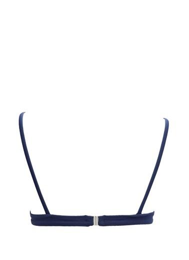 Bikini Üst-Solid & Stripe
